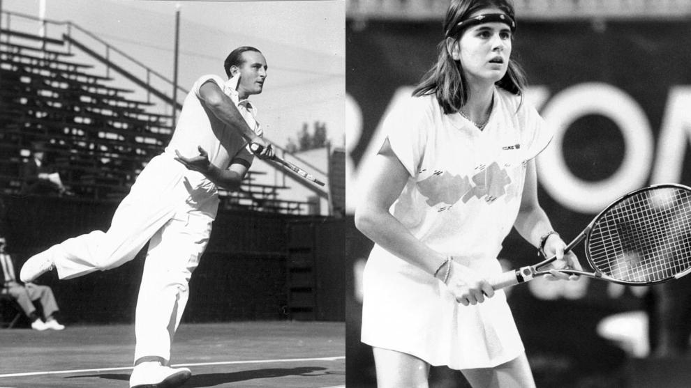Enrique Maier y Conchita Martínez, en 1935 y 1989 respectivamente