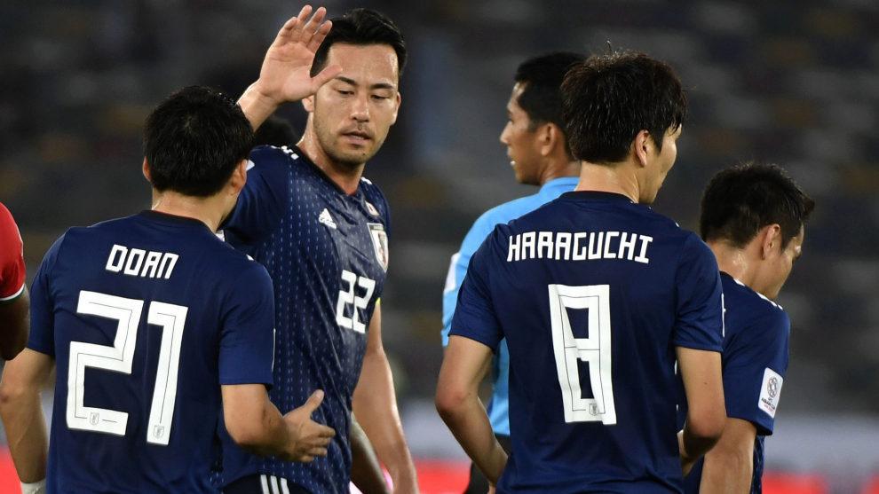 Sin minutos para Inui en la victoria de Japón frente a Omán