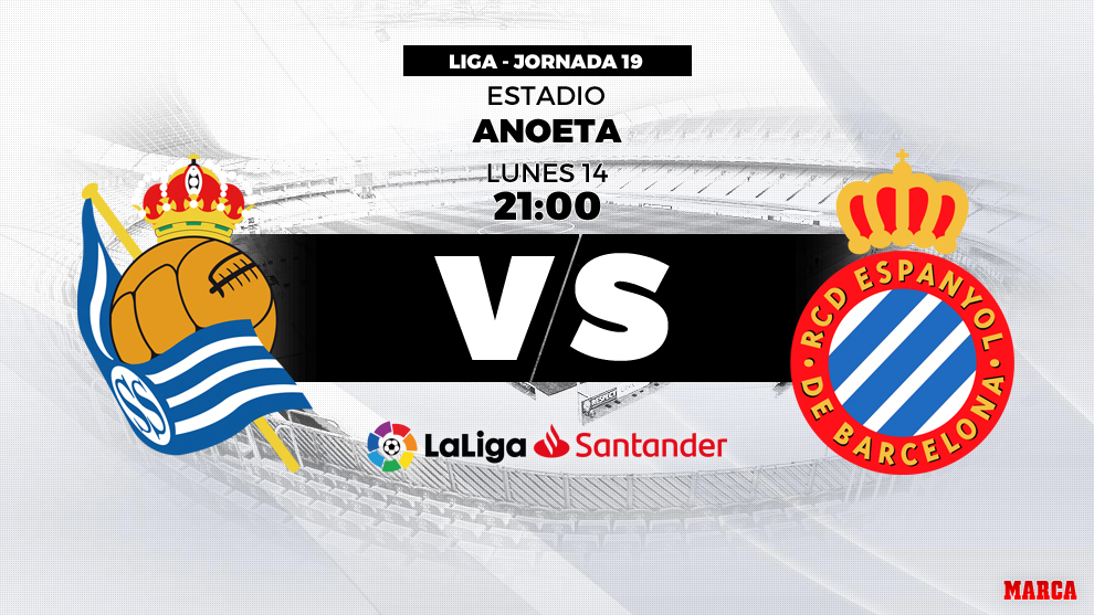 Real Sociedad vs Espanyol: horario y dónde ver en directo por televisión