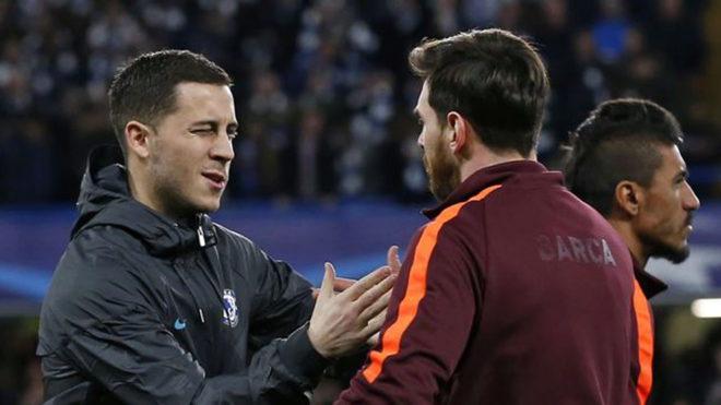 Chelsea: Hazard: Messi Is The Best Player