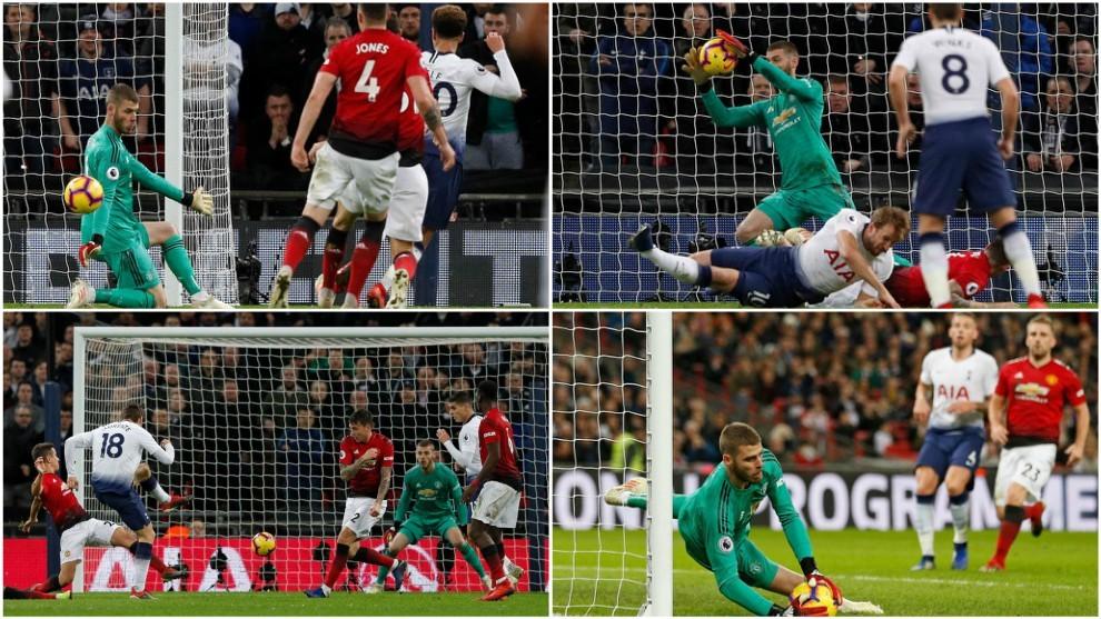 De Gea prolonga la racha victoriosa del Manchester United