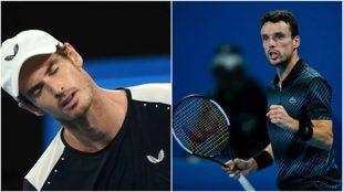 Andy Murray and Roberto Bautista