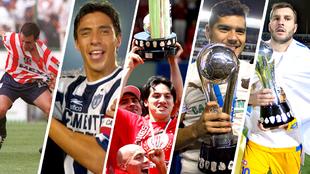 Chivas, Pachuca, Toluca, Santos y Tigres han sido campeones pese a...