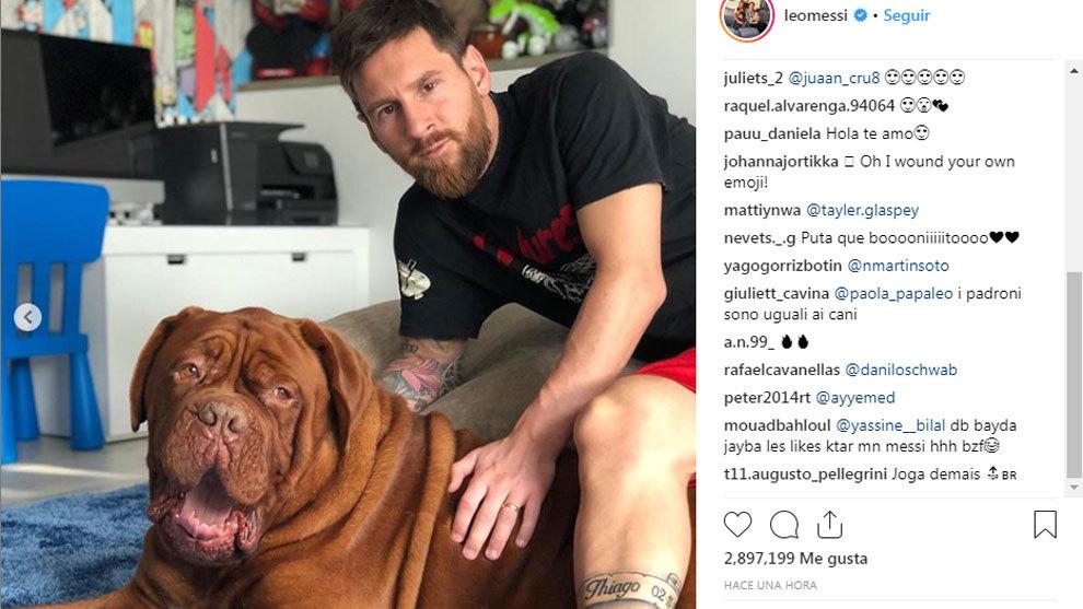 Leo Messi and 'Hulk'.