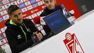 Dani Ojeda, durante su presentación como nuevo jugador del equipo...