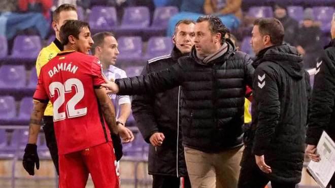 Sergio González y Damián Suárez, en el partido de vuelta de Copa...