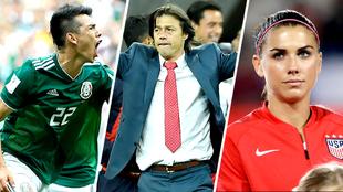 Varios conocidos de la Liga MX fueron galardonados en distintas...