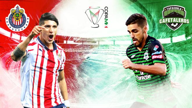 Chivas vs Cafetaleros, en vivo