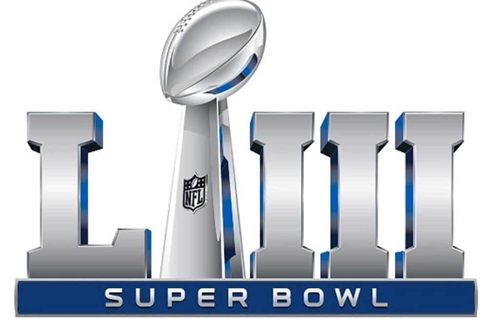 Logotipo de la Super Bowl LIII que se disputa en Atlanta