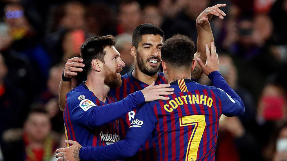 Dembele nets brace as Barcelona advance to Copa del Rey quarter-finals