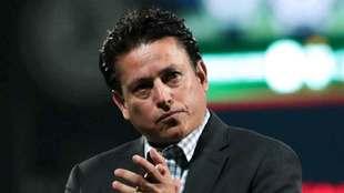 Salvador Reyes durante el juego contra Morelia