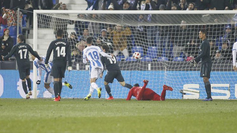 Leganes 1 0 Real Madrid
