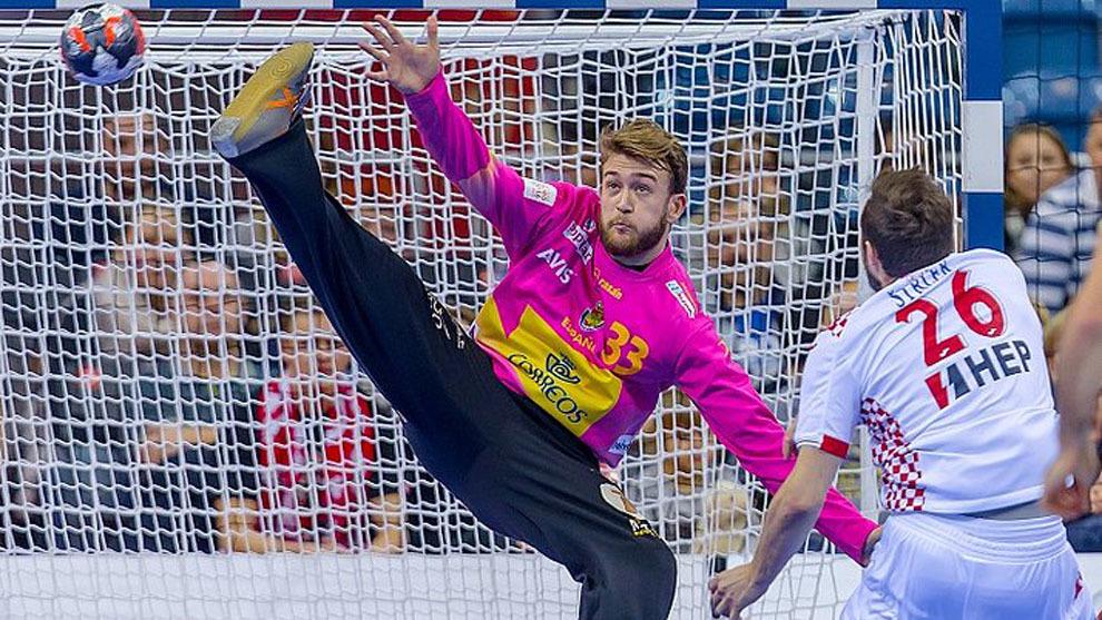 Mundial de Balonmano 2019: Gonzalo Pérez de Vargas, algo más que un simple  porterazo | Marca.com
