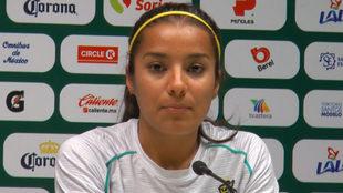 "Cinthya Peraza: ""Vencer a Chivas daría status"""