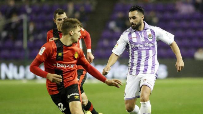Ivi López, durante un partido de Copa del Rey frente al Mallorca.