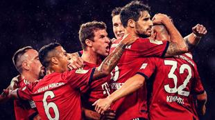 El Bayern Múnich llega como segundo en la clasificación a su duelo...