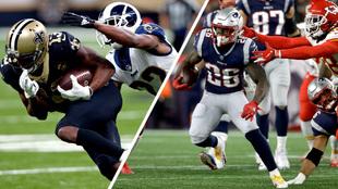Saints y Patriots ganaron en temporada regular a Rams y Chiefs.