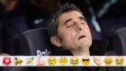 Valverde, antes del Barcelona-Levante