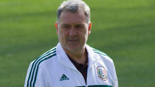 Gerardo Martino en las instalaciones de la Femexfut.