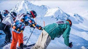 El centro invernal acoge cada año los mejores freeriders en la final...