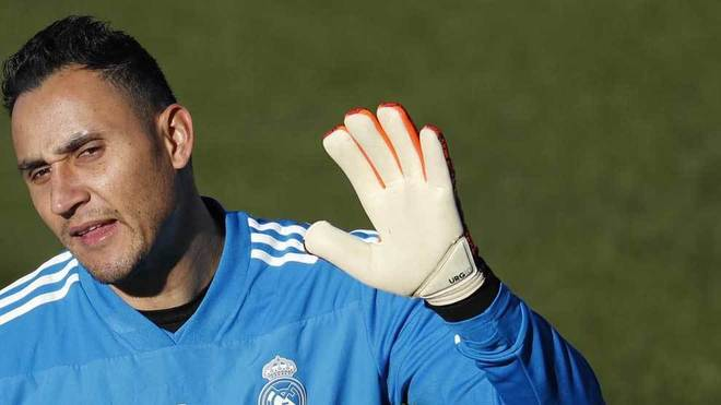 Keylor Navas, otro que cae lesionado en el Real Madrid