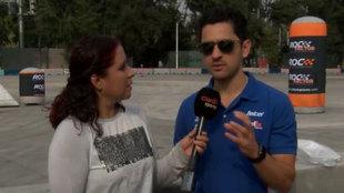 Entrevista con Abraham Calderón