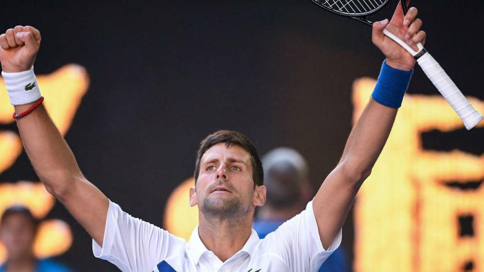 Djokovic metió un set de lujo y está en Octavos