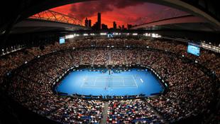 Rod Laver Arena, pista central del Open de Australia