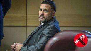 Pablo Ibar, durante una sesión del juicio recién finalizado.