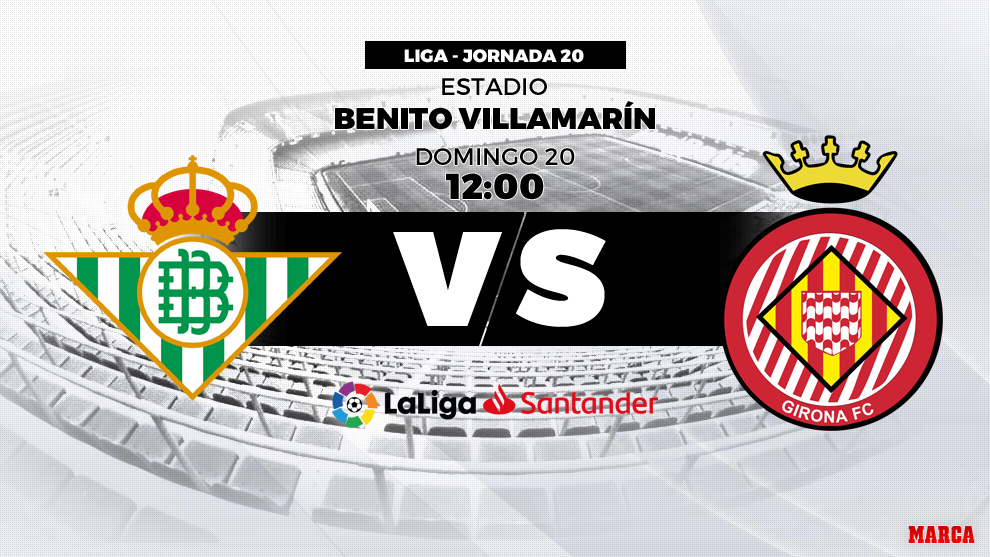 Betis vs Girona: A por la primera del 2019