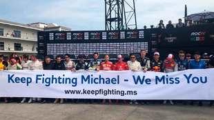 Los pilotos envían un mensaje a Michael Schumacher