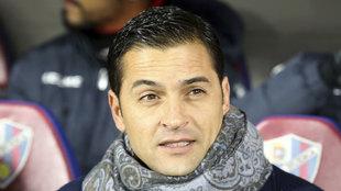Francisco durante el partido ante el Atlético.