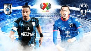 Querétaro vs Monterrey minuto a minuto