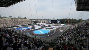 La afición se hizo sentir en el Autódromo Hermanos Rodríguez