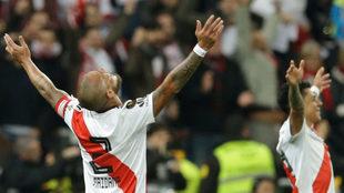 Maidana, el último referente de River Plate.