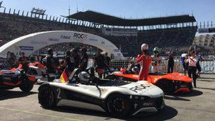 Benito Guerra venció a Sebastian Vettel