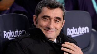 Valverde durante el partido ante el Leganés.