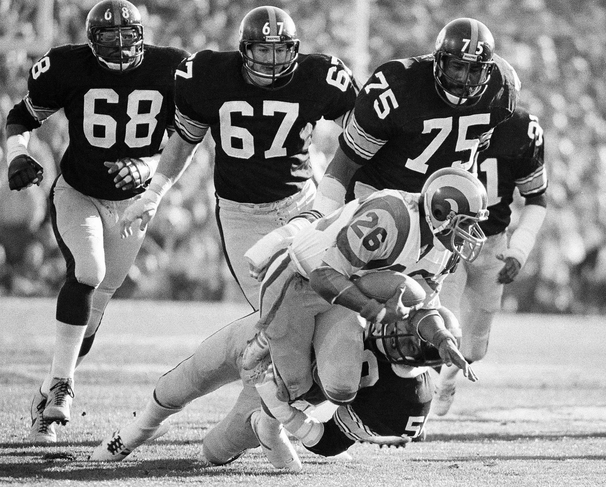 Los Rams perdieron ante Pittsburgh en el Super Bowl XIV.