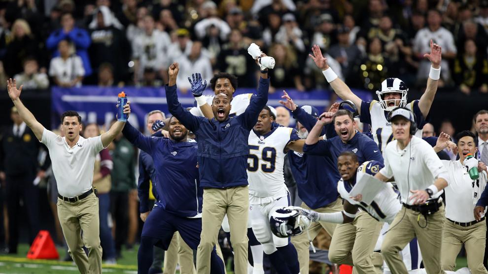Pats vencen a Chiefs y jugarán ante Rams el Super Bowl