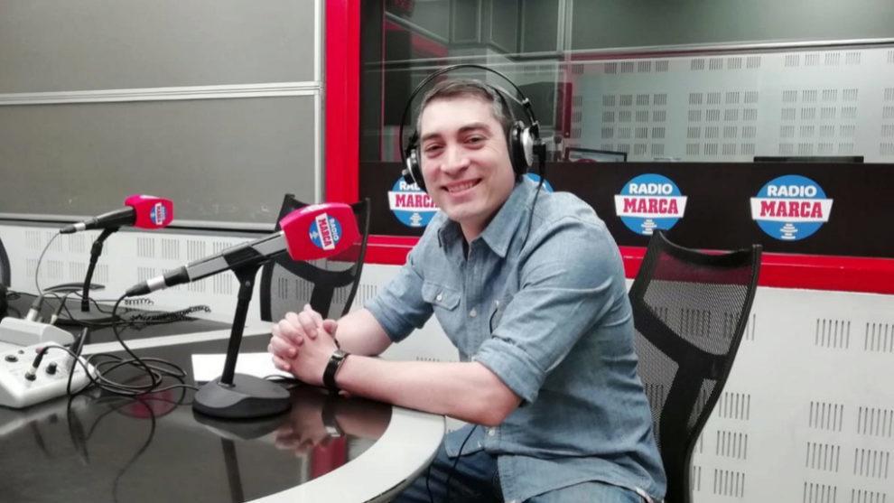 David Luzago, presentador de Marca Póker, en Radio MARCA.
