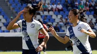 Godínez no daba crédito al disparo que terminó en gol.