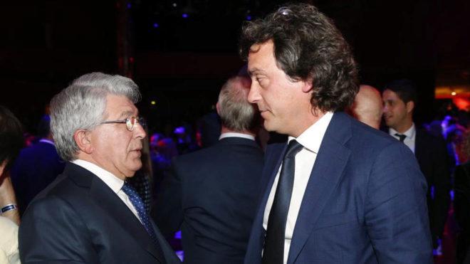 Enrique Cerezo y Juanma López, en una imagen de archivo.