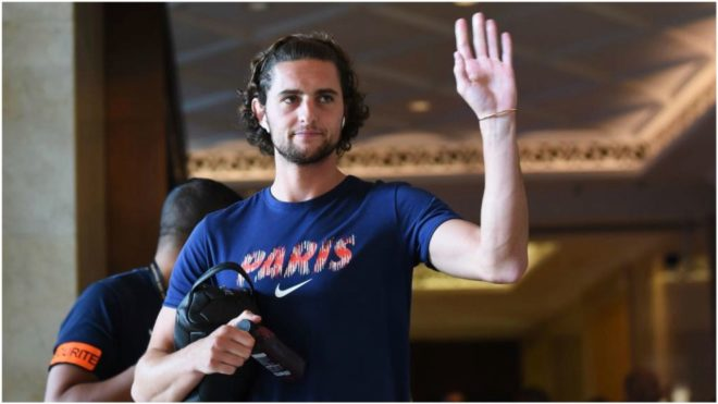 Rabiot has been forced to train with the reserves.
