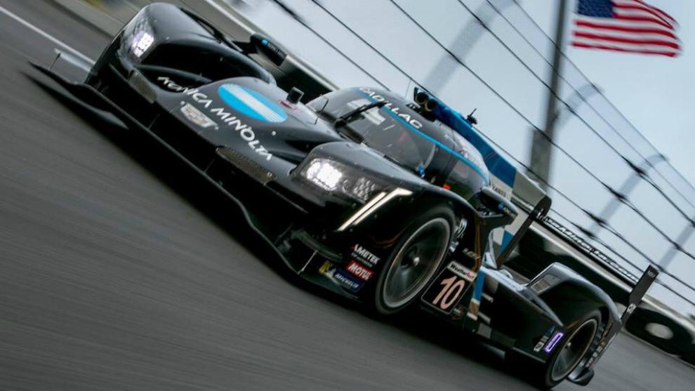 El Cadillac DPi nº 10 con el que correrá Alonso las 24H de Daytona.