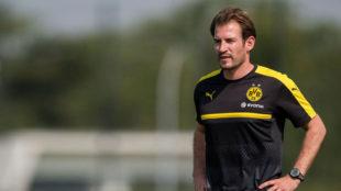 Siewert, con el Dortmund.