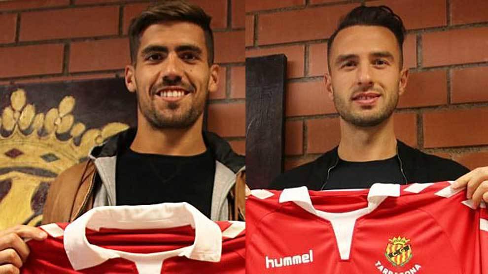 Fabián Ariel Noguera y Berat Sadik ya posan con su nueva camiseta