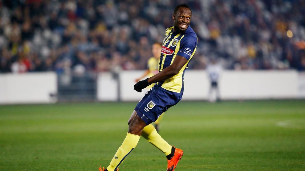 Usain Bolt termina su aventura en el futbol: