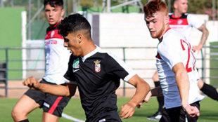 Hamza Abdel Lah Hamed, jugador del Ceuta.
