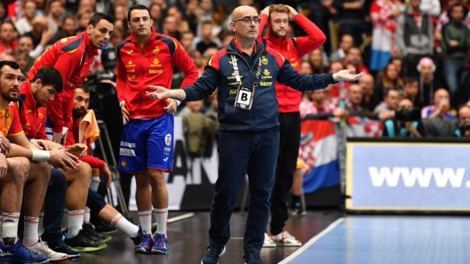 Jordi Ribera durante un partido con los 'Hispanos' /