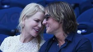 Australian actress Nicole Kidman, alongside husband Keith Urban, was...